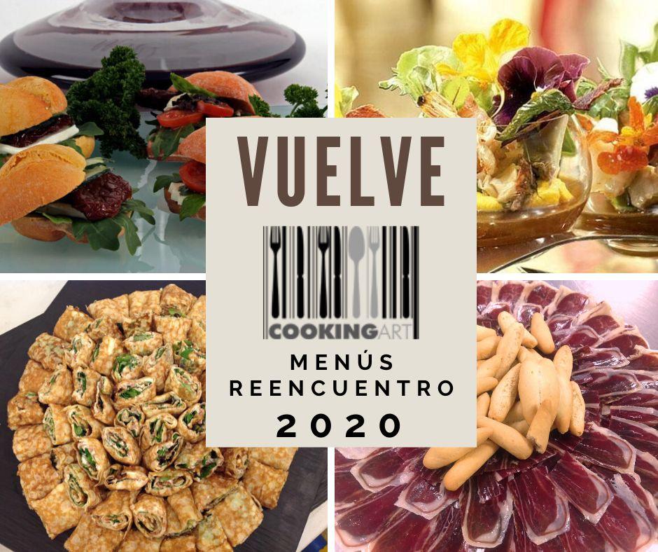 Menús Reencuentro 2020 cookingart madrid