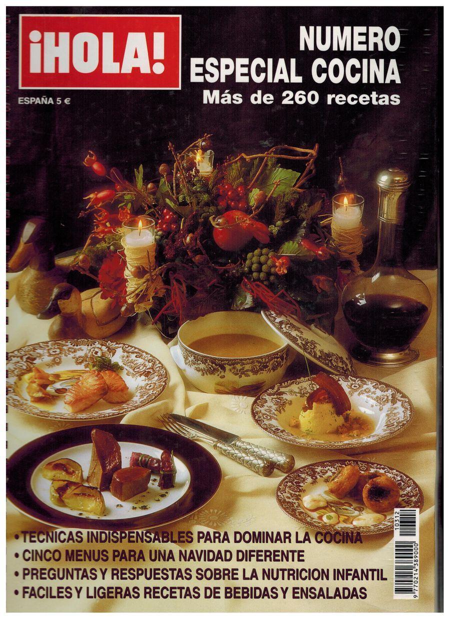Revista HOLA Navidad. Apariciones en prensa de COOKINGART Catering.